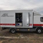 Agregat prądotwórczy 275 kVA bok